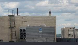 Small comfort cooling towers in hard-to-treat areas need maintenance too!