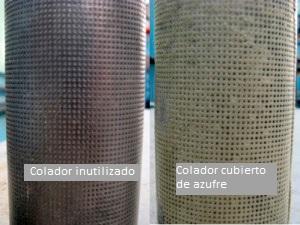 sulfur screen