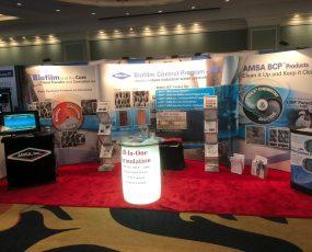 AMSA, Inc. tradeshow booth